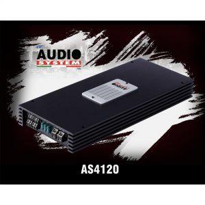 آمپلی فایر AUDIO SYSTEM-AS4120